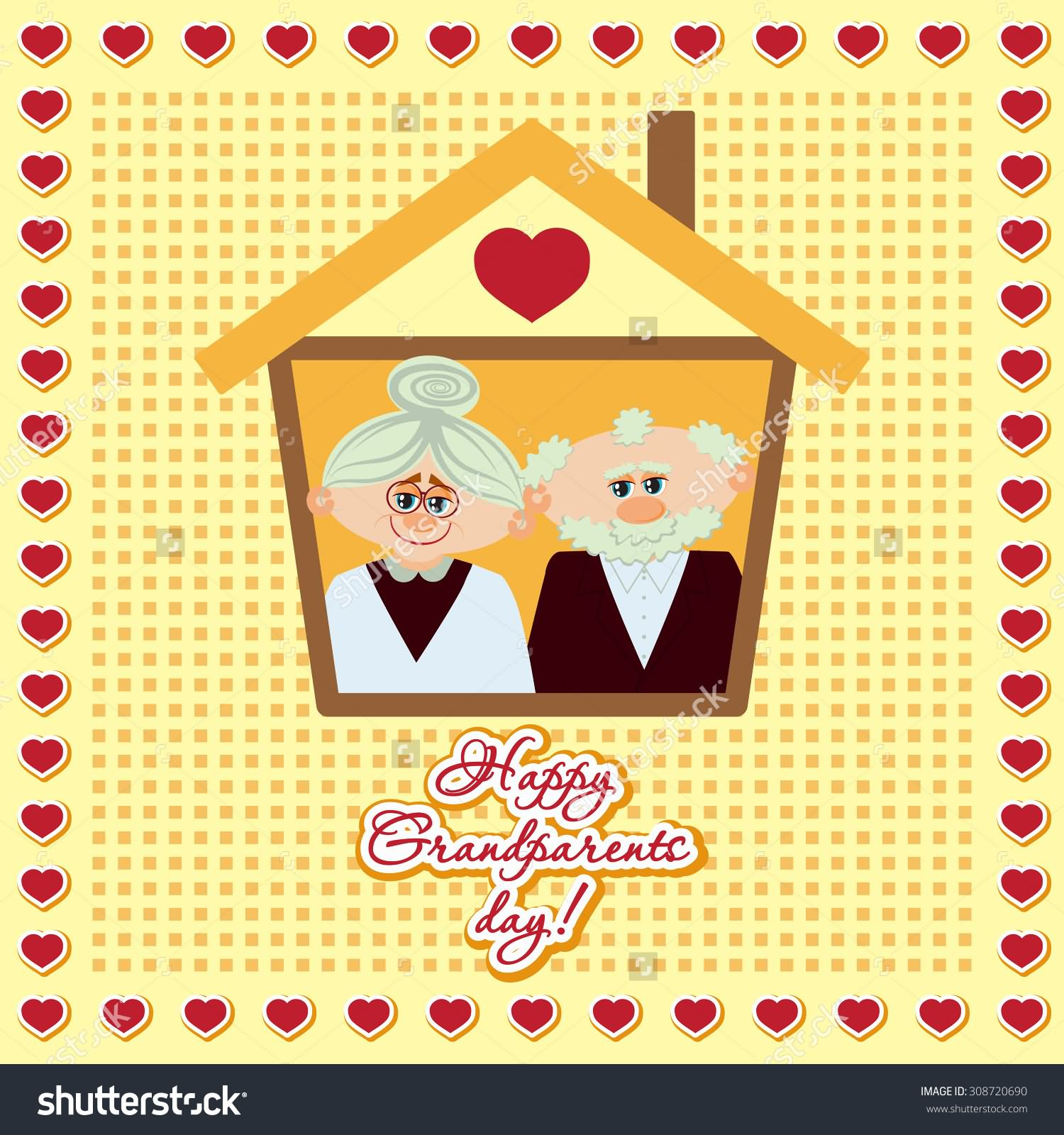 Card Making Ideas For Grandparents Day Part - 46: Happy Grandparents Day Greeting Card