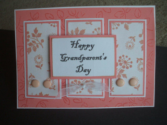 35 most beautiful grandparents day greeting card images happy grandparents day handmade greeting card bookmarktalkfo Gallery