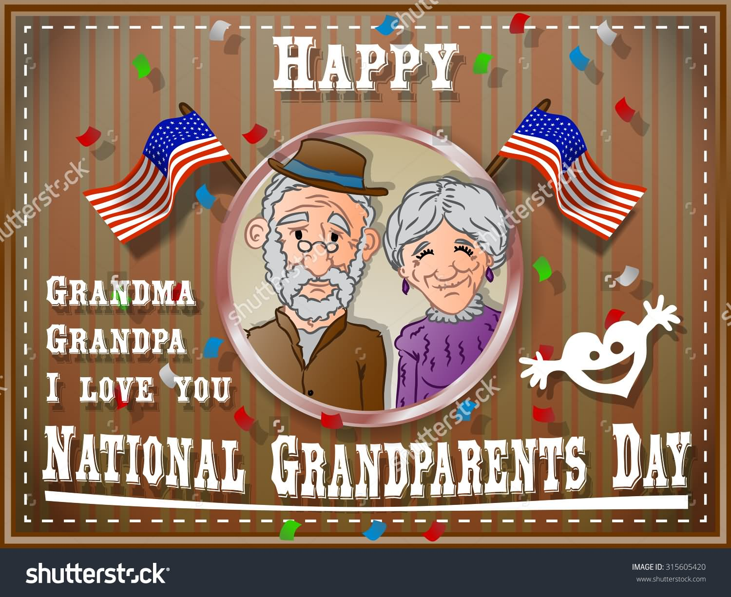35 most beautiful grandparents day greeting card images happy national grandparents day grandma grandpa i love you greeting card kristyandbryce Gallery