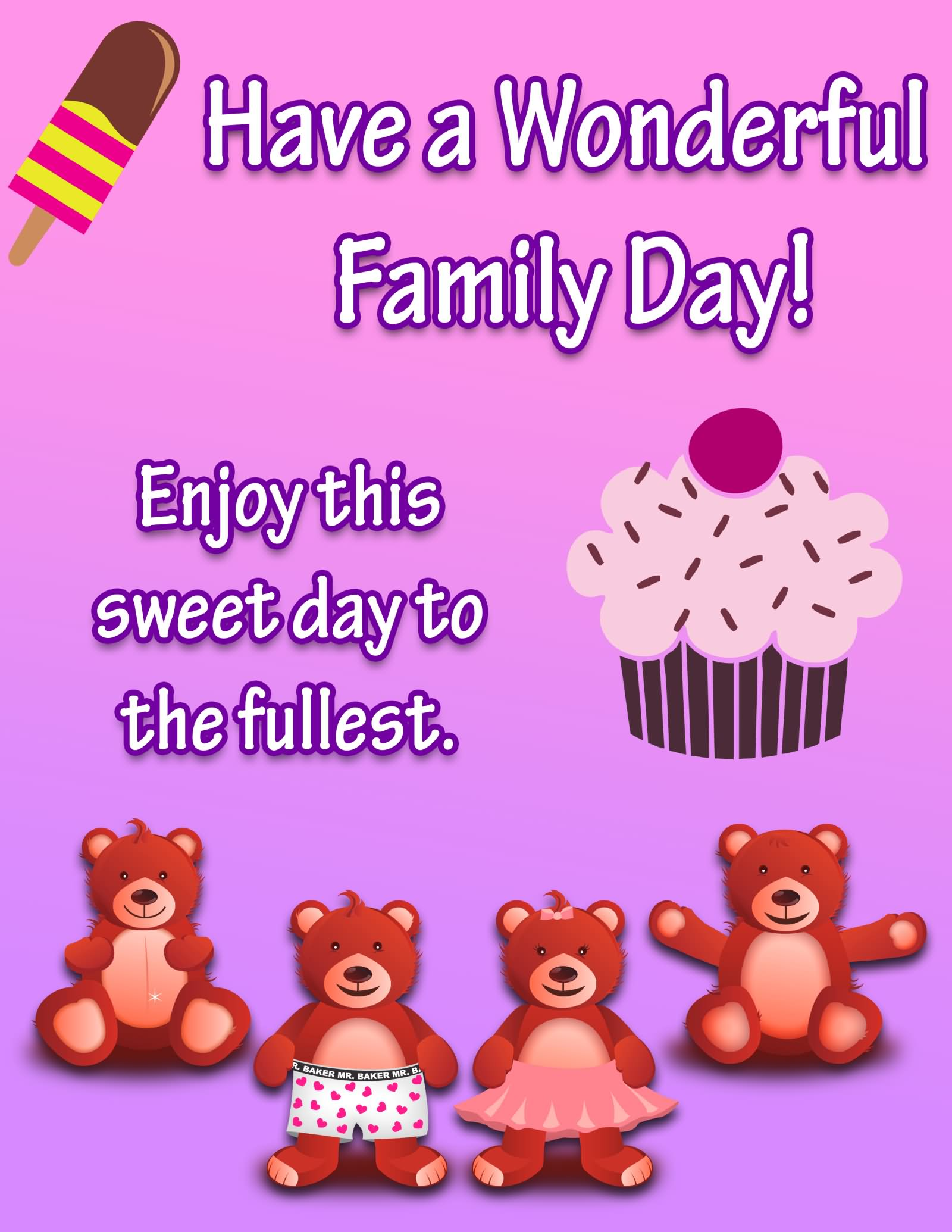 35 adorable happy family day 2016 wish pictures have a wonderful family day greeting card m4hsunfo
