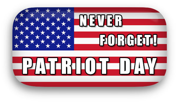 Never Forget Patriot Day Image