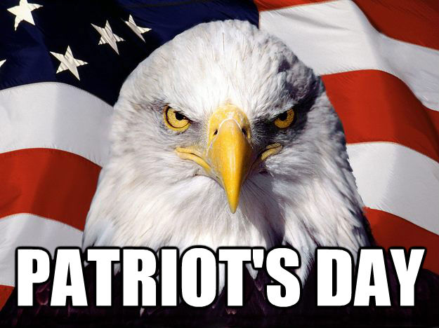Patriot Day American Eagle Face Picture