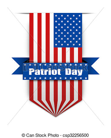 Patriot Day American Flag Image