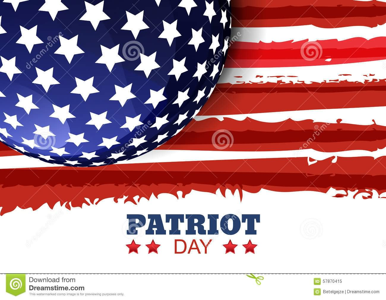 Patriot Day American Flag Picture