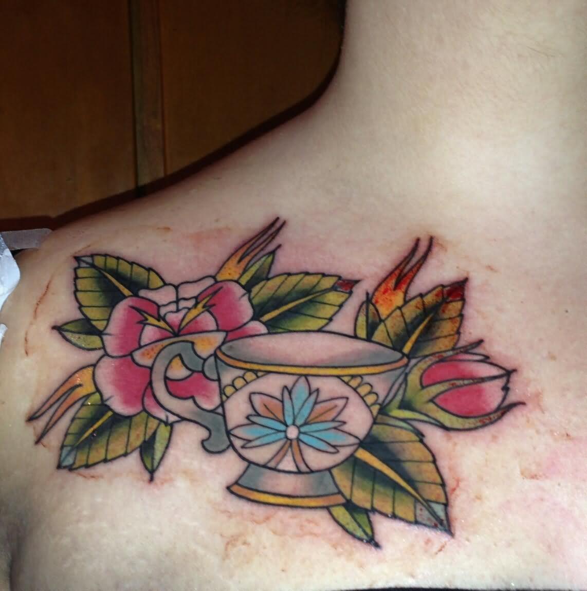 28 Simple Teacup Tattoos