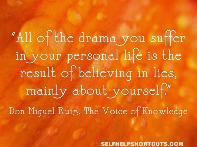 All Of The Drama You Suffer In Your Personal Life Is The Result Of