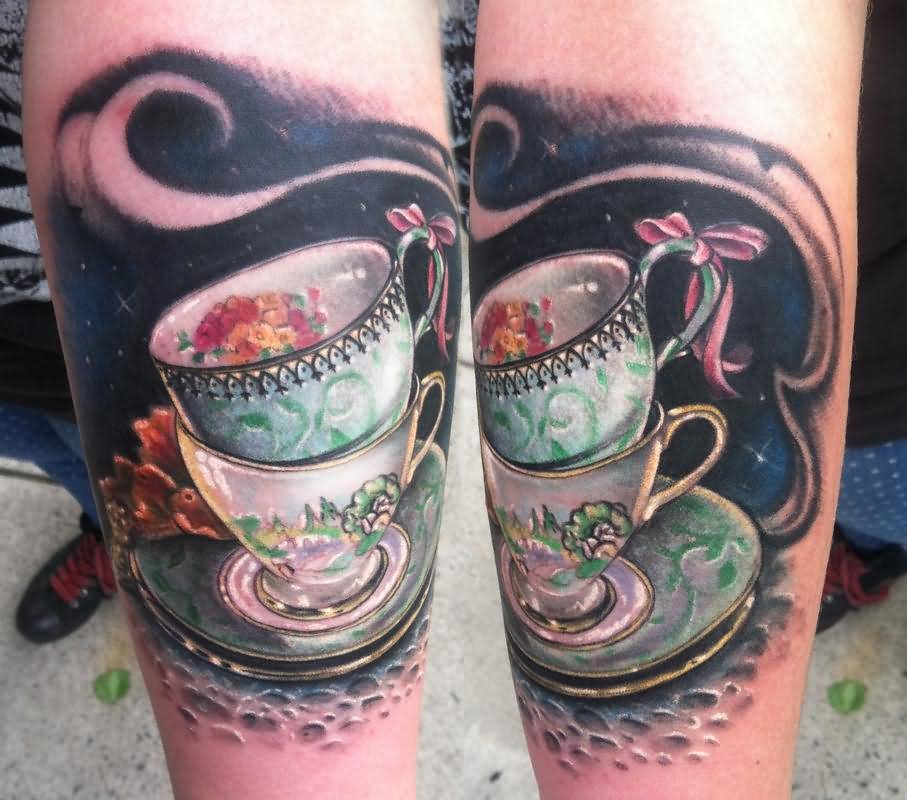 Alice In Wonderland Tattoos: 17+ Alice In Wonderland Teacup Tattoos