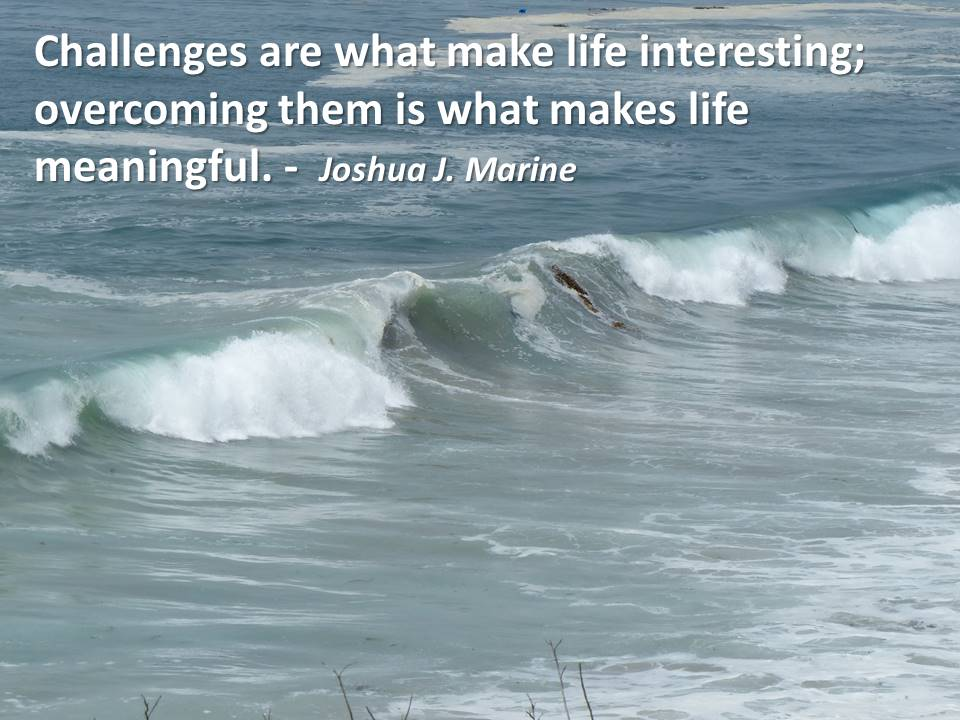 Challenges Are What Makes Life Interesting Overcoming Them ...