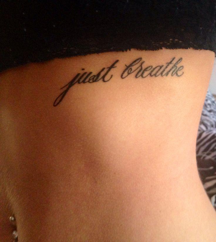 14+ Breathe Tattoos On Side Rib