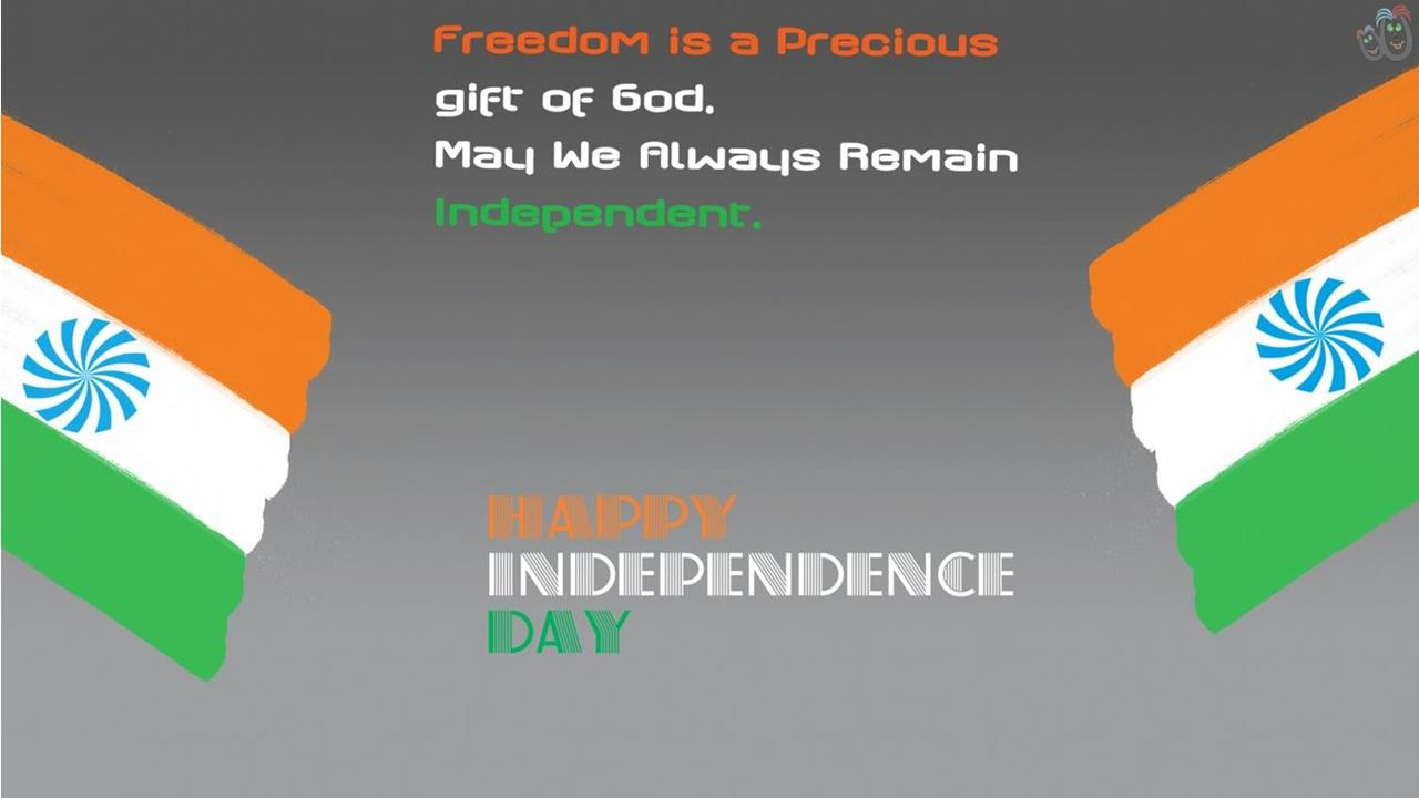 50 most beautiful indian independence day greeting pictures and photos may we always remain independent happy independence day kristyandbryce Gallery