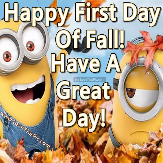 23+ Happy First Day Of Fall 2016 Greeting Pictures