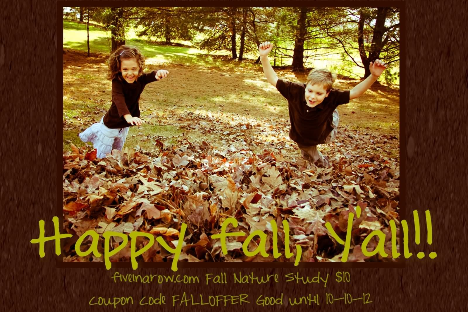 Happy First Day Of Fall Wishes Picture