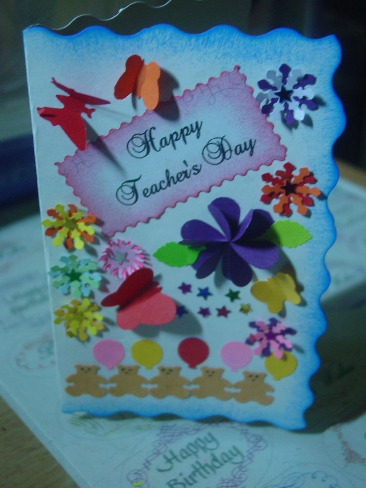 50 Beautiful Teachers Day Greeting Card Pictures And Images – Birthday Cards Decoration