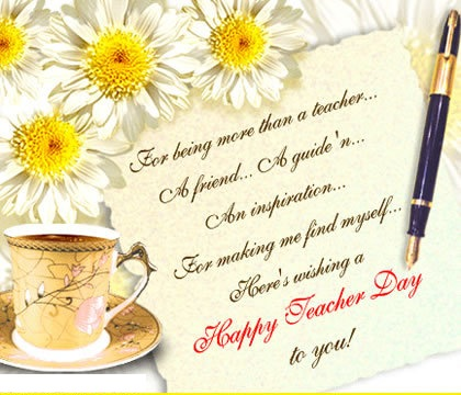 55 happy teachers day 2016 greeting pictures and images heres wishing a happy teachers day to you greeting card m4hsunfo