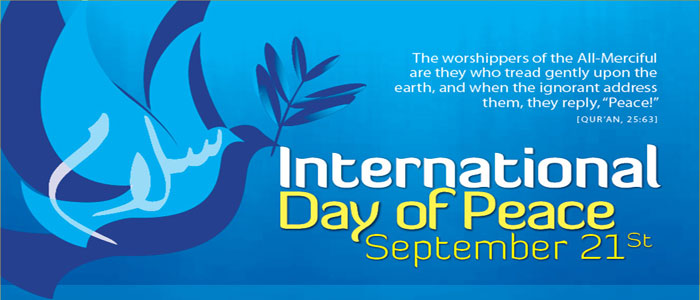 an essay on world peace day The 'international day of peace' is celebrated on 21st september every year the international day of peace, sometimes unofficially known as world peace day this day is observed around the world the international day of peace was established in 1981 the first peace day was observed in september.