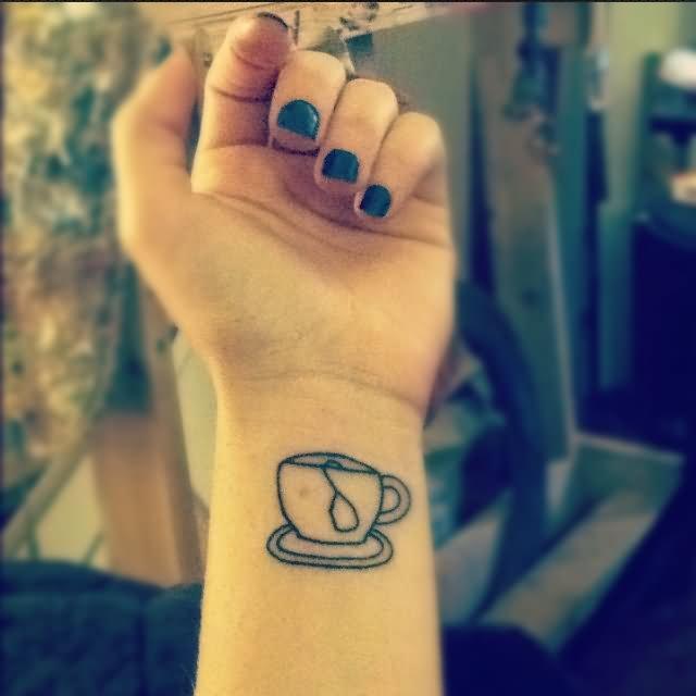 Teacup Tattoo Coffee Tattoos: 28+ Simple Teacup Tattoos