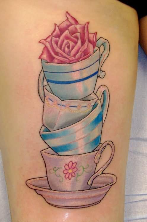 17 Alice In Wonderland Teacup Tattoos