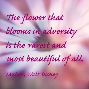 Details about  /The Flower That blooms in Adversity Is the Most Rare and Beautiful of All Cof...
