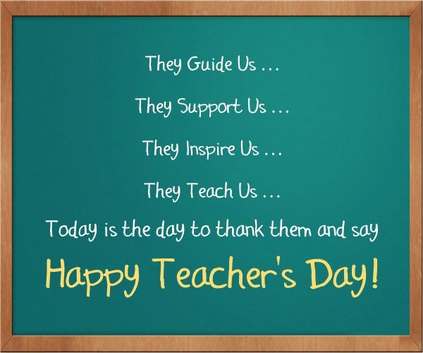 Teachers Day Quotes In English Images: 50 Wonderful Happy Teacher's Day Wish Pictures And Images