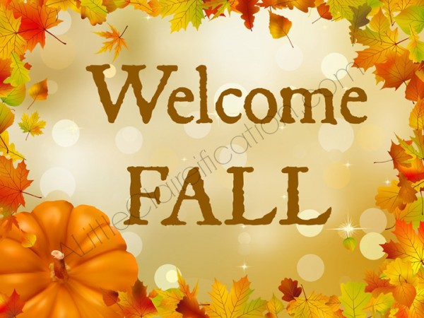 High Quality Welcome Fall Happy First Day Of Fall Wishes Image