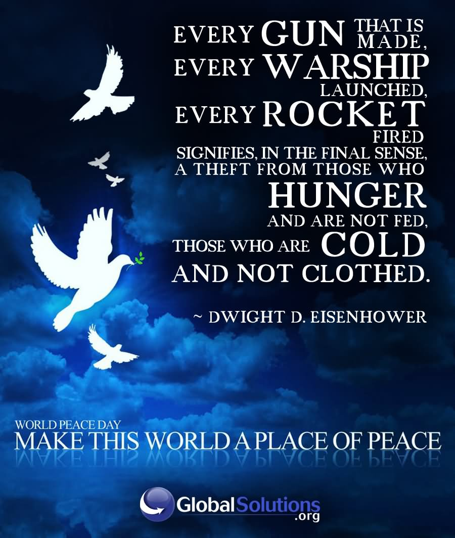 Congratulations on World Peace Day (World Prayer Day for Peace) 16