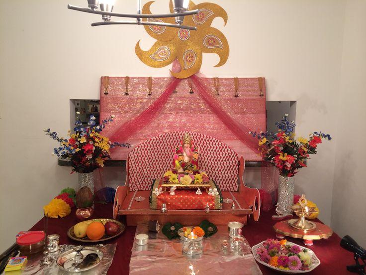 amazing ganesh chaturthi decoratio idea at home - Decorations At Home