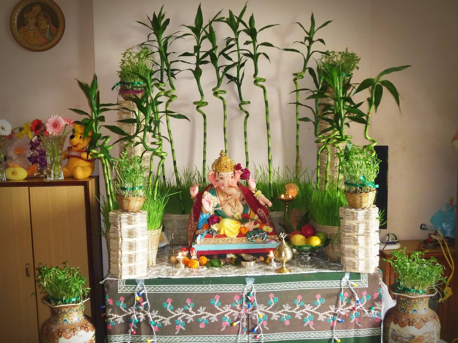 25 Incredible Ganesh Chaturthi Decoration Idea Pictures