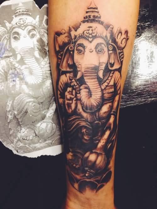 ganesha tattoo forearm - photo #2