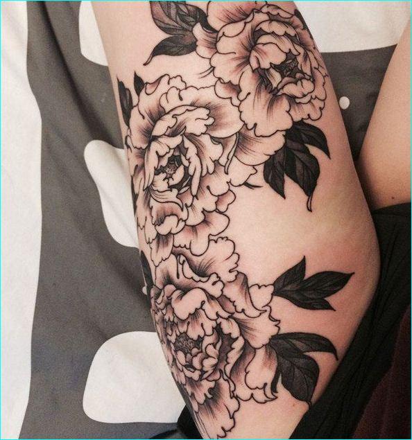 26 Peony Tattoo Designs Ideas: 53+ Attractive Peony Tattoos Ideas