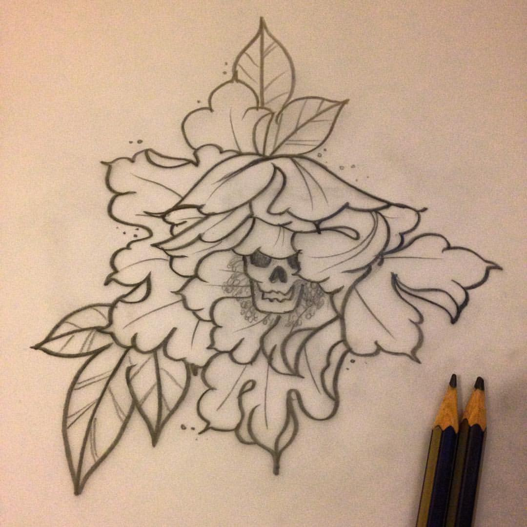 Carnation Tattoo Outline Pictures to Pin on Pinterest ...