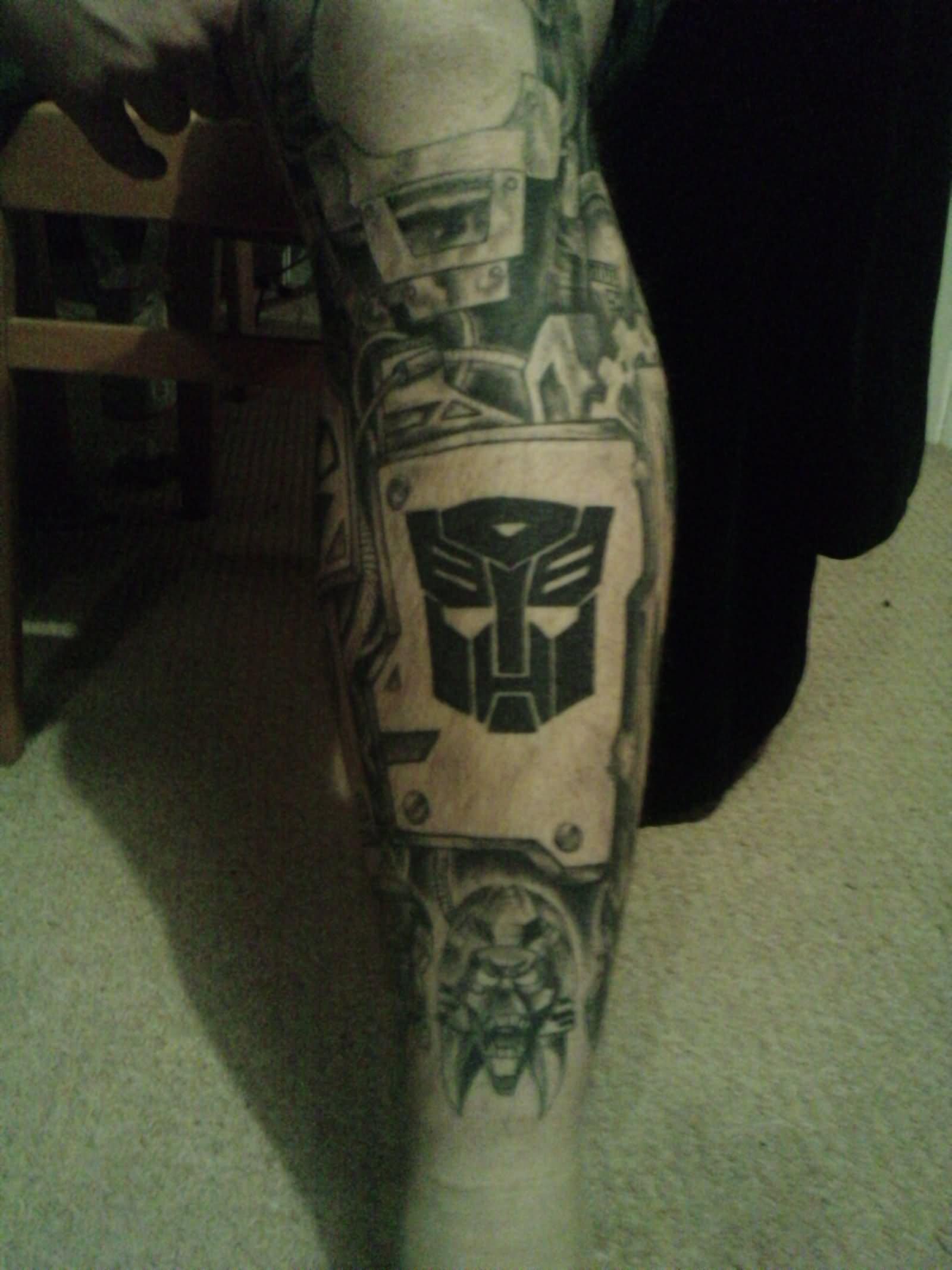 37+ Transformer Logo And Symbol Tattoos