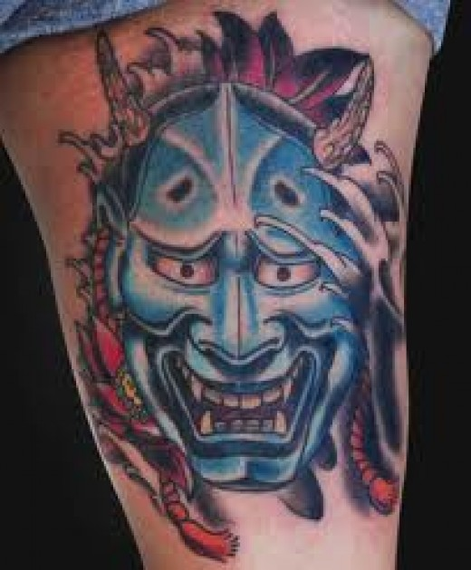 62 japanese hannya mask tattoos