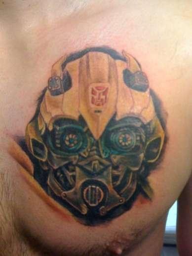 Black Bumble Bee >> 16+ Bumblebee Transformer Tattoos