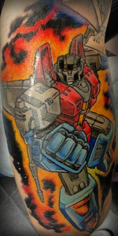 20+ Transformer Sleeve Tattoo