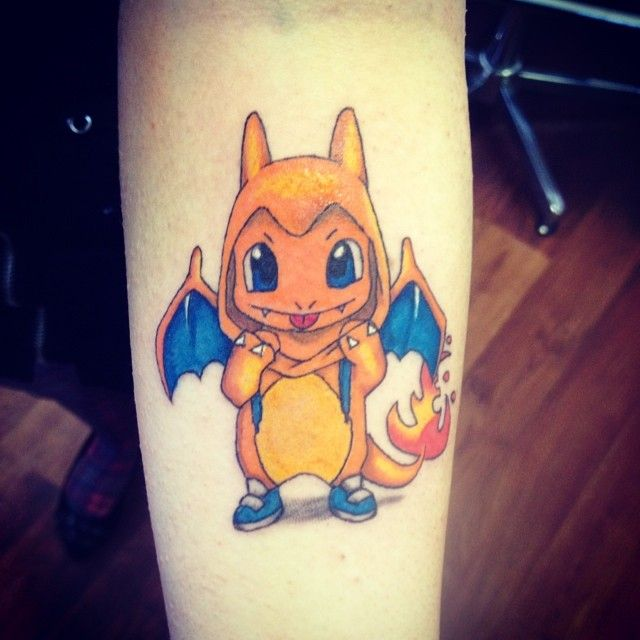 26+ Fantastic Charmander Tattoos