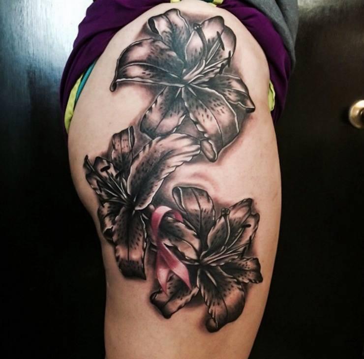 20+ Beautiful Tiger Lily Tattoo Designs