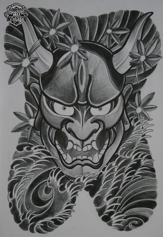 13+ Hannya Tattoo Designs