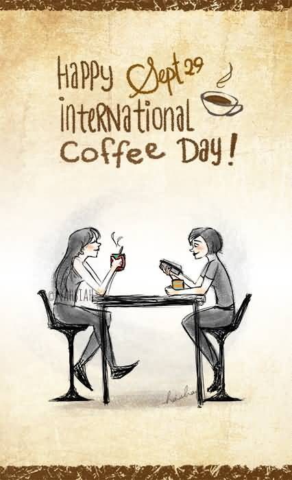 50 Beautiful Happy International Coffee Day 2016 Pictures