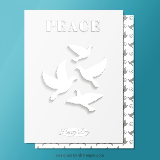 25 international day of peace greeting card pictures happy peace day greeting card image m4hsunfo Images