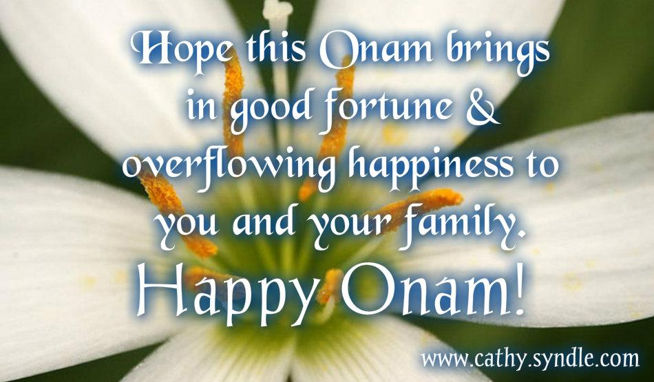 50 very beautiful happy onam wish pictures and images hope this onam brings in good fortune overflowing happiness to you and your family happy m4hsunfo
