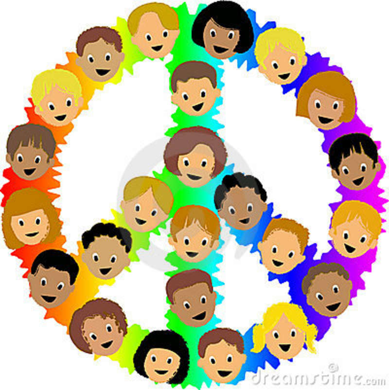 70 wonderful international day of peace 2016 pictures and images international day of peace logo made of kids face clipart voltagebd Choice Image