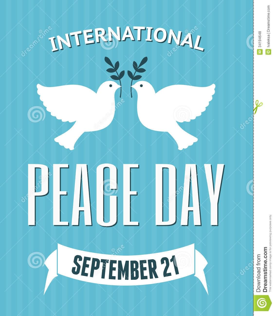 25 International Peace Day Poster Images And Pictures