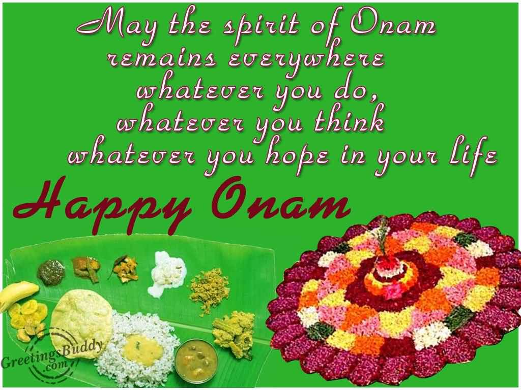 52 best onam festival 2016 wish pictures and photos may the spirit of onam remains everywhere whatever you do whatever you think whatever you kristyandbryce Image collections