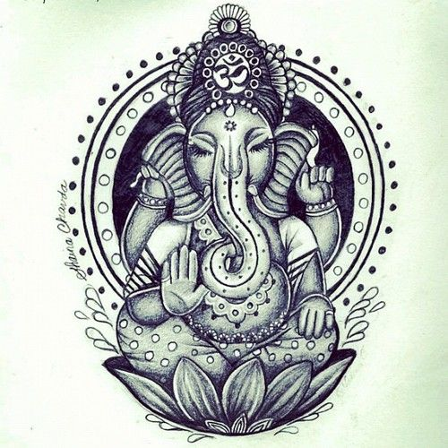 ganesh tattoo tumblr - photo #32