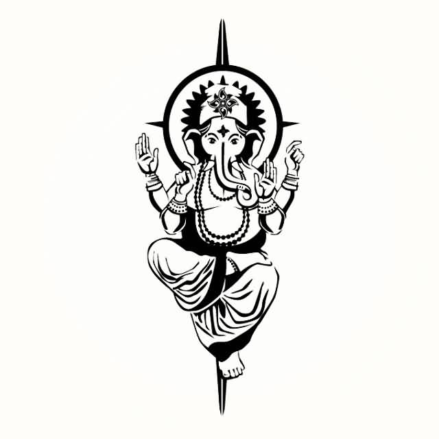 Lord Shiva Tattoo The Lord Is Back Series By Eric Jason: 18+ Latest Lord Ganesha Tattoo Designs