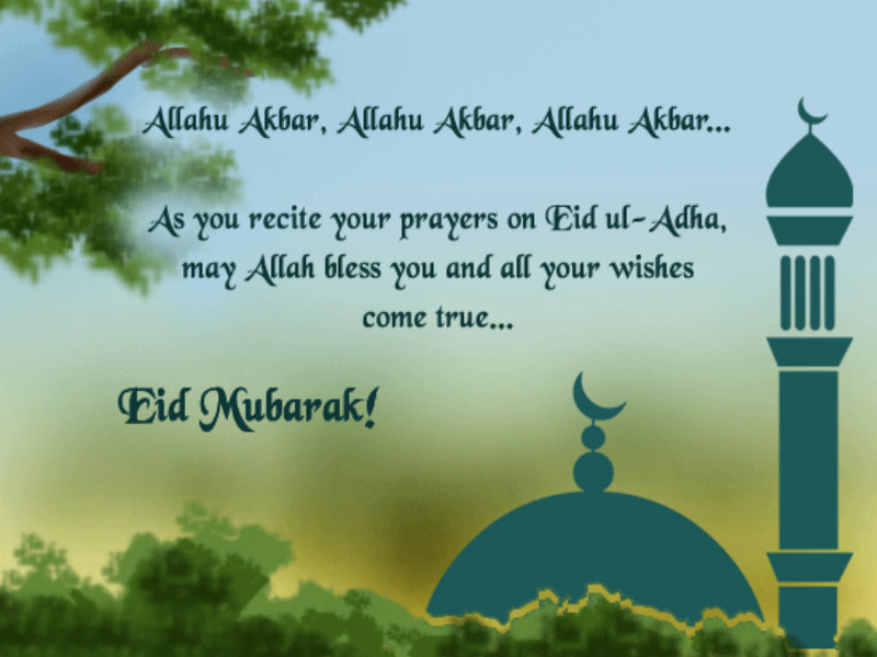 As you recite your prayers on eid al adha may allah bless you and as you recite your prayers on eid al adha may allah bless you and all your m4hsunfo Gallery
