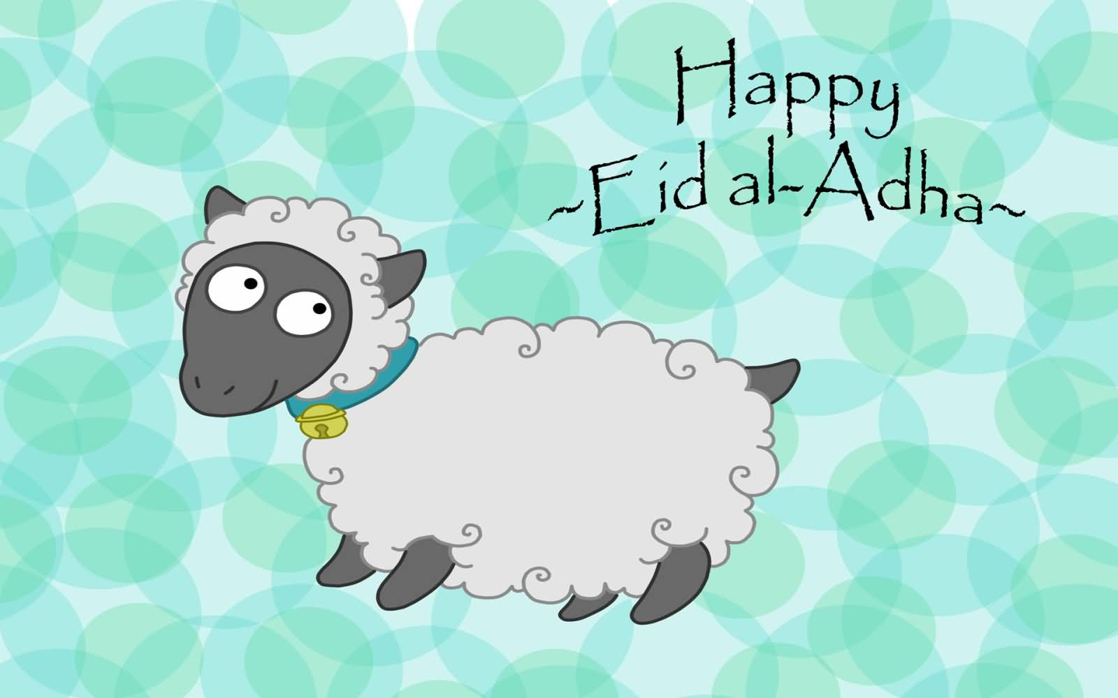 60 wonderful eid al adha wishes pictures and photos happy eid al adha greetings sheep clipart image kristyandbryce Choice Image