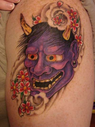 21 great hannya shige tattoos. Black Bedroom Furniture Sets. Home Design Ideas