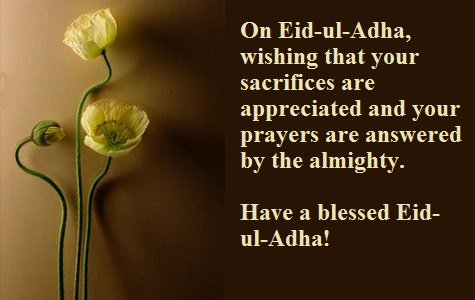 65 best eid ul adha 2016 greeting photos and images on eid al adha wishing that your sacrifices are appreciated and your prayers are answered m4hsunfo