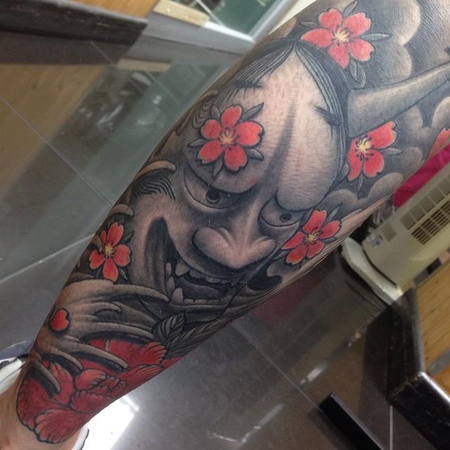 Japanse in throat - 5 4